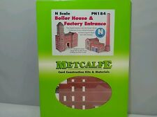 METCALFE PN 184 Boiler House & Factory Entrance N Scale