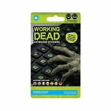Mustard Scary Decorative Working Dead Glow-in-Dark Keyboard Stickers