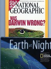 EXC NATIONAL GEOGRAPHIC vol.206 #5 NOVEMBER 2004 +suppl.WORLD MAP, EARTH NIGHT