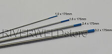 2% Lanthanated TIG Welding Tungsten Electrodes Assorted Size 1.0-1.6-2.4-3.2,4PK