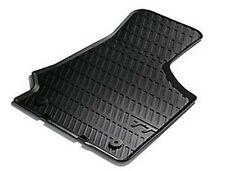 Genuine 2006 - 2014 Audi TT Front Rubber Floor Mats 8J2061501041 Carpet