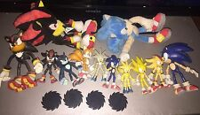 Rare Sonic the hedgehog figure bundle , adventure 2 battle , plush