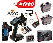 Spektrum DX4S 4 Channel DSMR AVC Radio System w/SR410 / SRS4210 2X FREE SC-0352