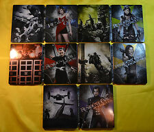Resident Evil Steelbook Bluray 1-5 ITALIAN *REGION FREE* NEW and SEALED SOLD OUT