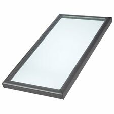 K399D Velux Fixed No Leak Skylight FCM 1446 Tempered Low E3 Curb Mounted New