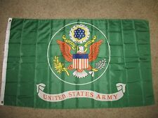 3x5 US Army Coat of Arms Seal Green Flag 3'x5' Banner