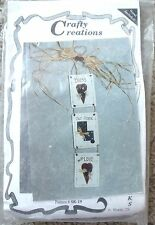 NIP Crafty Creations Bless Our Home With Love Wood Woodworks Instruction Kit