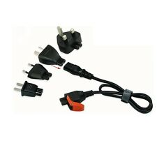 Top Quality universal travel power cord kit for UK/US/AU/EU, Universal with C7