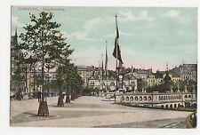Germany, Hamburg, Jungfernstieg Postcard, A580a