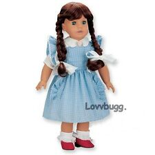 """Dorothy Wizard of Oz Costume Set for 18"""" American Girl Doll Clothes Lovvbugg Fun"""
