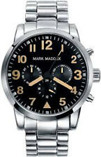 MMNP HM3004-54 Mark Maddox Gents Stainless Steel Bracelet Calendar Watch