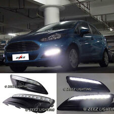 Exact Fit High Power 9-LED Daytime Running Light DRL Fog Lamp Ford Fiesta 14-16