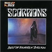 Scorpions Best Of Rockers n Ballads CD  - Good Condition