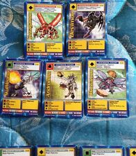 5RARE DIGIMON TB-04 06 07 08 09 Taco Bell MOVIE Promo Cards KUWAGAMON ANDROMoN +