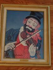 The Maestro Red Skelton Lithograph Canvas COA LE Clown Violin Orchestra Freddie