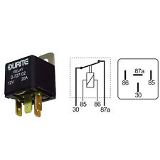 Durite - Relay Latching 25 amps 12 volt Cd1 - 0-728-02