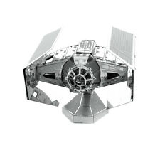 Metal Earth Laser Model Kit Star Wars Darth Vader's TIE Advanced X1 Starfighter