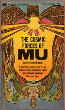 James Churchward THE C0SMIC FORCES OF MU pb 1968 Ancient World Vintage-Good