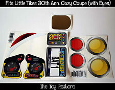 Replacement Decal Stickers fits Little Tikes 30th Cozy Coupe Batman Inspired ++