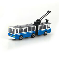 Articulated Trolley Trolleybus Moscow Russia Mini Model Toy by Tehnopark