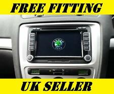 Skoda SAT NAV DVD Player Android Bluetooth Radio Octavia Yeti Superb Fabia VRS