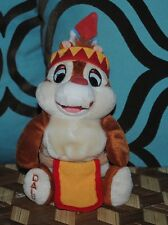 CHIP 'N DALE DALE Indian Plush Doll Walt Disney World Frontierland Theme Park