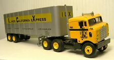 Bullnose KW Sleeper Cab Truck Resin Cast Kit 1/87  By Don Mills Models