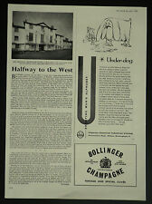 Grosvenor Arms Hotel Shaftesbury Dorset Review 1964 1 Page Article