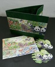 Malaysia 7 Wonders Of Flora & Fauna 2016 Panda (folder set) MNH *odd *unusual