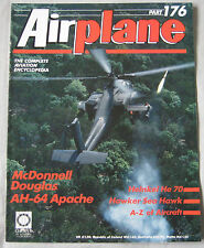 Airplane No 176 McDonnell Douglas AH-64 Apache, Heinkel He 70, Hawker Sea Hawk