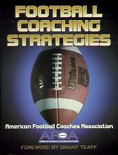Football Coaching Strategies by American Football Coaches Association Staff (199