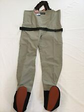 "NEW 2013 SIMMS BLACKFOOT STOCKINGFOOT WADERS SIZE LARGE ""RETAIL $199.95"""