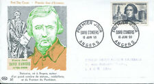 FRANCE FDC - 304 1210 1 DAVID D'ANGERS 13 6 1959