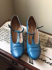 Chelsea Crew 39  - Malibu Mary Janes, color NYPD Blue - Size 39 (8 - 8/12 US)