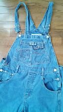 VTG 90s Denim OVERALLS Medium Grunge Hip Hop LA Blues