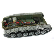 HengLong 1/16 RC USA M26 Pershing Tank Metal Road Wheel Track Sprocket Chassis