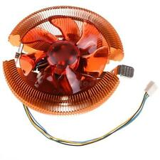 Red CPU Cooler Cooling Fan & Heatsink for AMD AM2 Intel 775/1155/1156/1366 M0BG