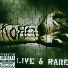 Korn Live & Rare CD NEW SEALED 2006 Metal