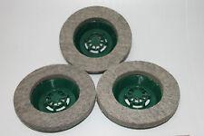 FOLLETTO- set 3 spazzole in feltro Pulilux