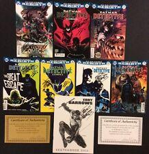 BATMAN DETECTIVE COMICS #934 - 940 DC Rebirth Signed TYNION BARROWS +Sketchbook