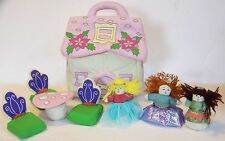 ALMA'S DESIGNS soft sculptured FAIRY PLAY HOUSE complete play set