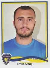 N°043 EMRE AKTAS # TURKEY BUCASPOR STICKER PANINI SUPERLIG 2011