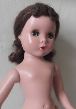 """1950s Vintage 14"""" Madame Alexander Maggie Face Doll to Dress"""