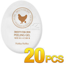 Holika Holika Smooth Egg Skin Peeling Gel 20pcs Exfoliator Scrub Korean Cosmetic