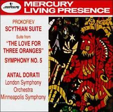 Prokofiev: The Love of Three Oranges Suite; Symphony No. 5 (CD, Mar-1992, Mercur