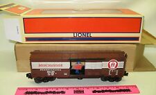 Lionel new 6-52281 LOTS 2003 PENN Merchandise Service Operating Boxcar