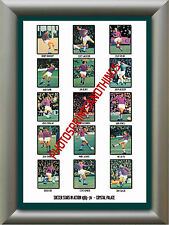CRYSTAL PALACE - 1969-70 - REPRO STICKERS A3 POSTER PRINT