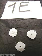 Ingranaggi ingranaggio pezzi di ricambio modellismo meccanismi in plastica 1E