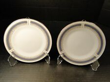 """Noritake Blue Dawn Bread Plates 6611 6 1/2"""" TWO EXCELLENT!"""