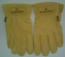 One Pair PLAINSMAN Leather Gloves (Cabretta Goatskin) LARGE from Bulk Case Pack